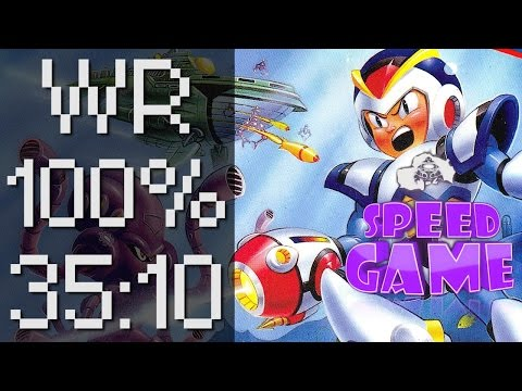 Speed Game Hors série: Mega Man X Record du monde 100% en 35:10 !