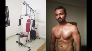 Body Transformation From Lifeline Hg 002 Square Home Gym After 1 Month