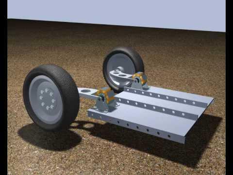 Электромагнитная подвеска автомобиля | Electromagnetic car .