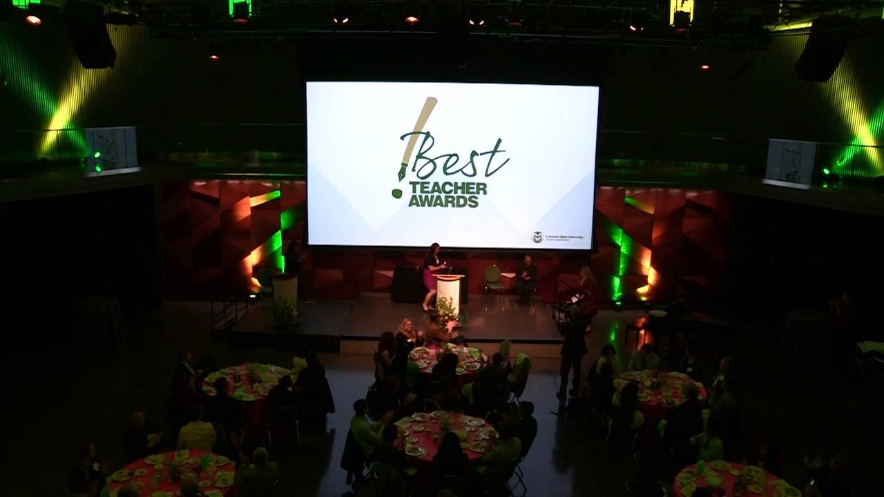 Best Teacher Awards 2016 - Colorado State University