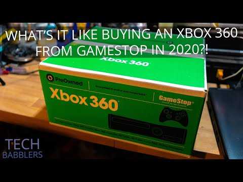 What's It Like Buying An Xbox 360 From GameStop In 2020?!