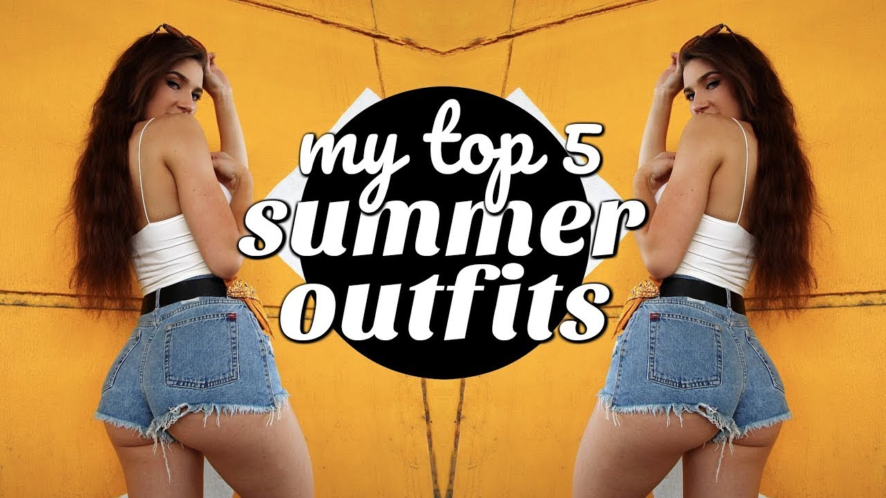 MY FAV GO-TO CASUAL SUMMER OUTFITS | Cute Summer LookBook/ Haul 9