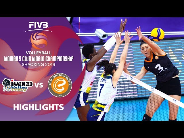 Imoco Volley vs. Eczacibaşi Vitra Istanbul - Highlights | Women's Volleyball Club World Champs 2019
