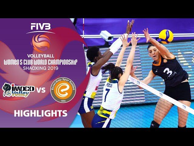 Imoco vs. Eczacibaşi - Highlights | Women's Volleyball Club World Champs 2019