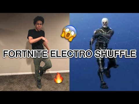 HOW TO DO THE FORTNITE DANCE IN REAL LIFE ( ELECTRO SHUFFLE