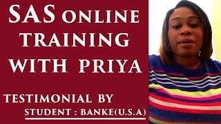 SAS Programming Online Training For True Beginners