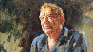 Portrait Painting TUTORIAL of Derek Williams by Paul Barton, artist