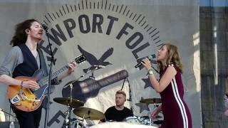 "Hozier - ""Work Song""with Rachael Price  Newport Folk Festival, Newport RI 7-28-2019"