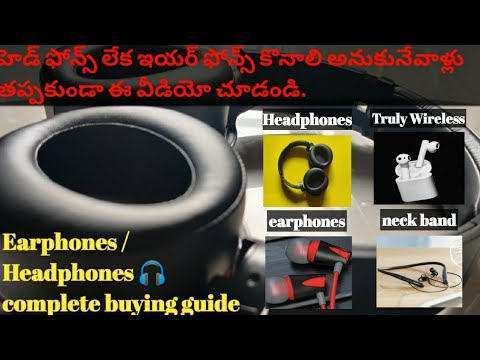 Earphones Buying Guide | Headphones buying guide 2020 | Best TWS earphones to buy in 2020