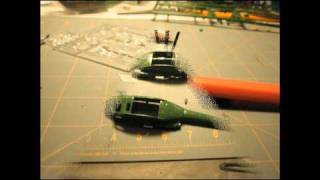 Revell Bell Uh-1d A Building Review