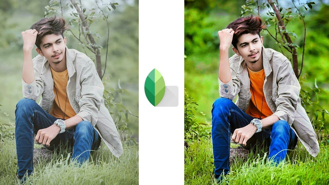 Snapseed photo editing,best color effect photo editing ...