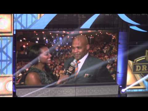 Notre Dame Pat Terrell Interview At NFL Draft - Zennie62