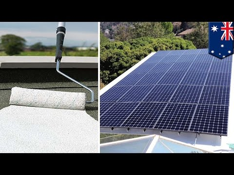 Clean energy: Solar paint can create hydrogen power from sunlight and water vapor - TomoNews