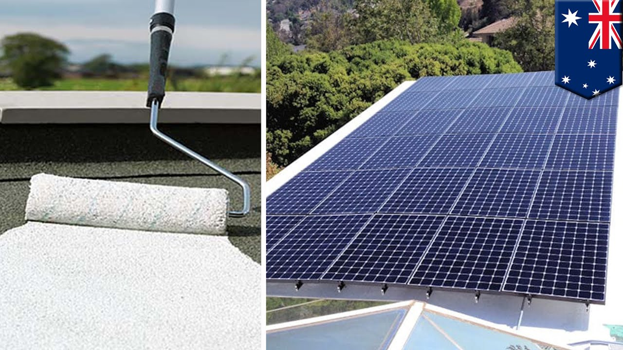 Clean Energy Solar Paint Can Create Hydrogen Power From