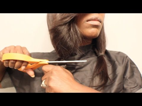 PART 6 OF 6| How to Cut the Side Sweep Banged Bob | MYFIRSTWIG | BEAUTYCUTRIGHT