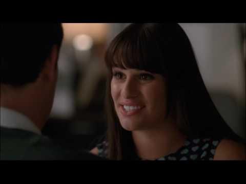 Glee - Finn tells Rachel he wants to be an actor 3x16