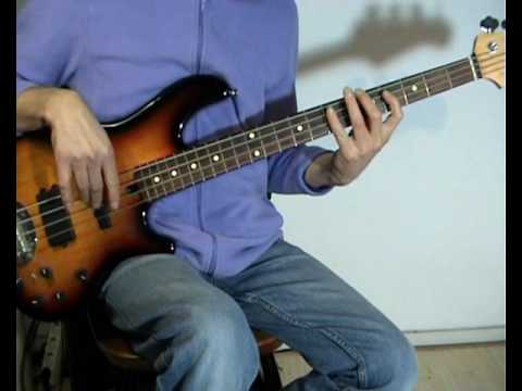 Eric Clapton - Lay Down Sally - Bass Cover