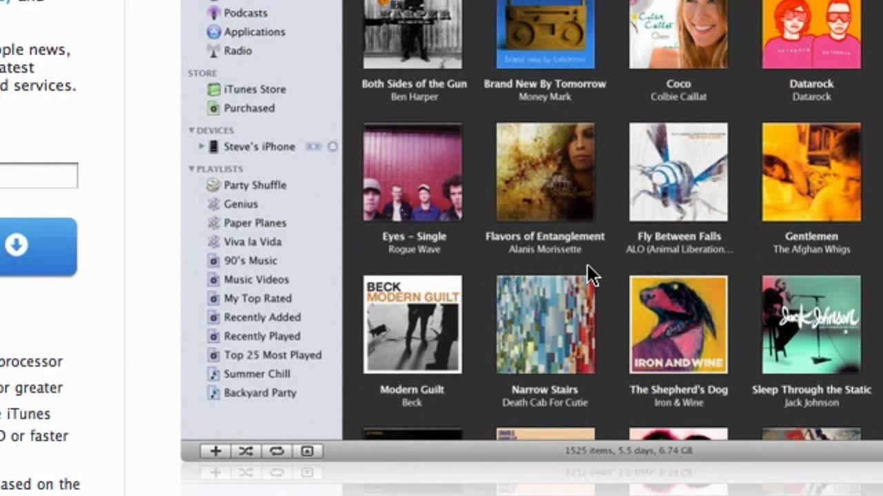 HD Tutorial: Upgrade to iTunes 8 Plus