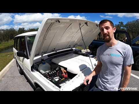E.C.D. Tesla-Powered Range Rover Classic