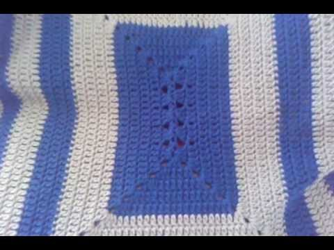 Crochet Rectangle Granny Lapghan Youtube