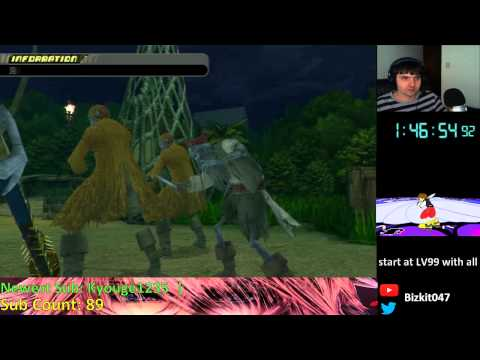 Kingdom Hearts HD 2.5 - Cheat% Run