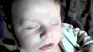 2 Month Old Baby Snoring (Hilarious)
