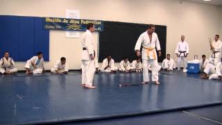 Robert Thompson III Black Belt Test March 29 2014