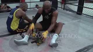 Anderson Silva treinando 2014