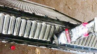 видео Чистка, ремонт радиатора