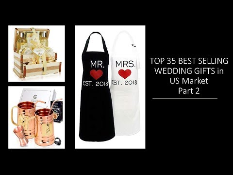 Top 35 Wedding Gifts For Couples: Best Selling Gift Ideas USA Part 2
