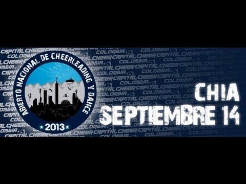 Abierto Nacional 2013 - Capital Cheer Colombia II Jornada