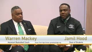 Warren Mackey and Jamil Hood of Green Tech Charter School on #SCENETV