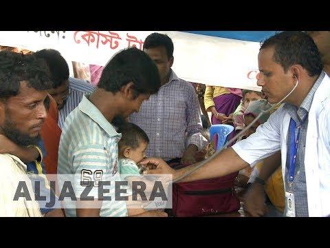 Rohingya refugees vulnerable to epidemics