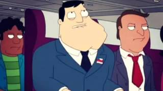 The Smiths on a plane - American Dad