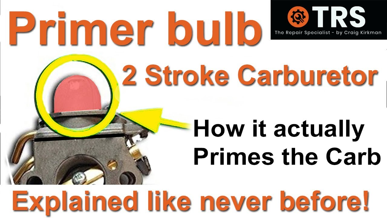 medium resolution of how a primer bulb works easily explained two stroke cycle carburettor help fix your own save money