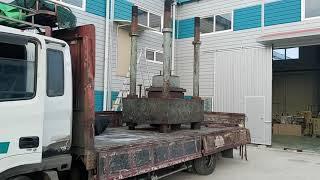 무게 6톤 기계 운송