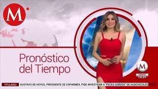 El clima para mañana 17 de enero, con Pamela Longoria