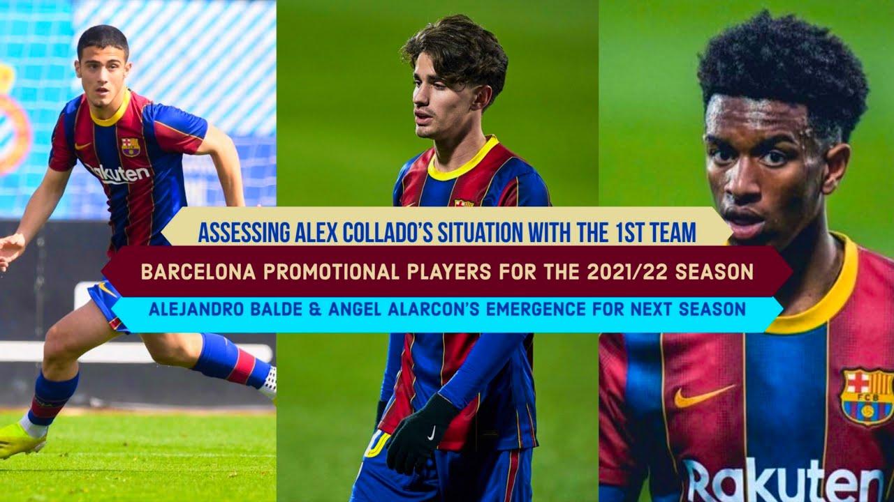 Download Barcelona B Player's Promotion: Alejandro Balde, Alex Collado & Angel Alarcon | Barcelona 2021/22