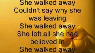 Barlow Girl - She walked away [Lyrics]