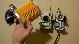 Как из нулевика сделать эффективный воздушный фильтр со сменным бумажным элементом.