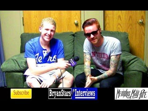 Memphis May Fire Interview Matty Mullins Warped Tour 2012