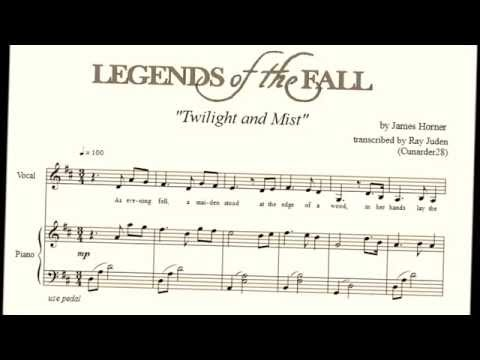 Twilight And Mist From LEGENDS OF THE FALL By James Horner