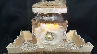 💛vintage Style Wedding Centerpiece Dt Project For Alicia's Glitzz & More💛