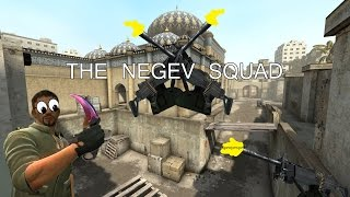 CSGO: 5 man negev army | CS Logic