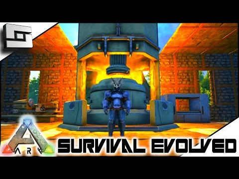 ARK: Survival Evolved - INDUSTRIAL FORGE! S4E17 ( The Center Map Gameplay )