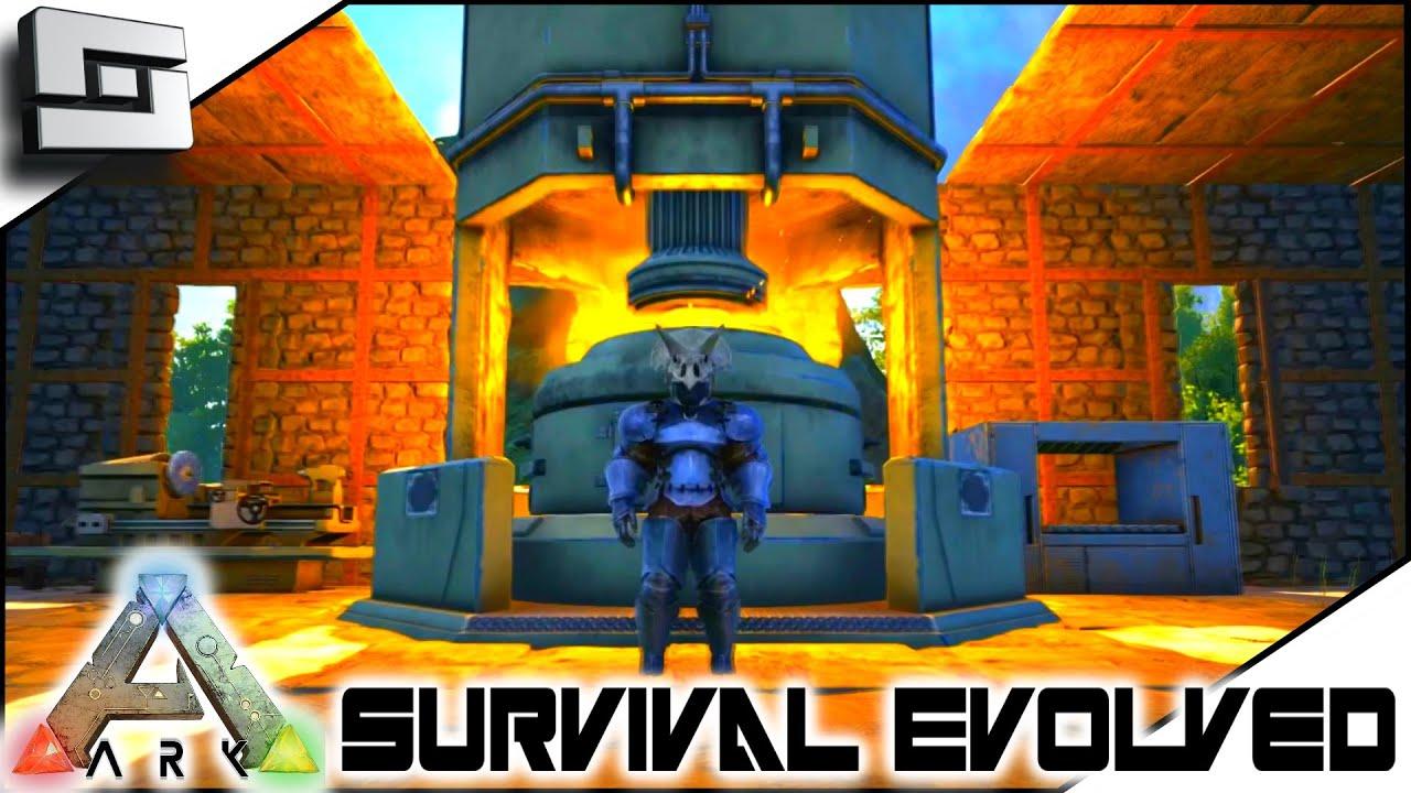 ark survival evolved industrial forge s4e17 the c doovi. Black Bedroom Furniture Sets. Home Design Ideas