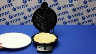 Рецепт приготовления постных вафель в вафельнице VITEK VT-1597 BK