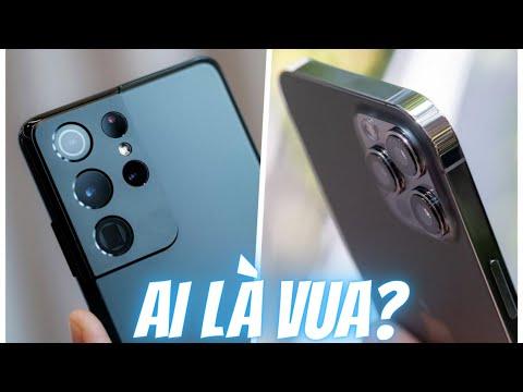 So sánh Galaxy S21 Ultra và iPhone 12 Pro Max - Kẻ chiến bại là ai?