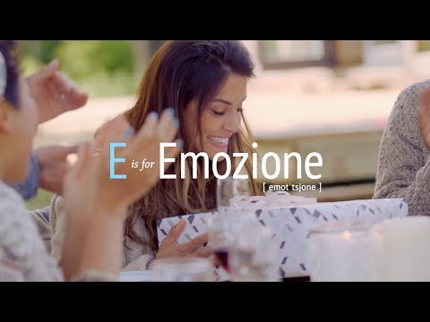 E is for 'Emozione': Baci Perugina's Italian Dictionary of Love and Affection