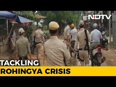 Red Alert In Manipur Along Myanmar Border Over Rohingyas